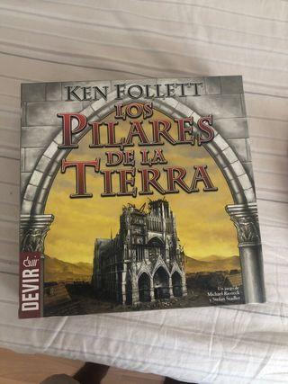 J.MESA Los Pilares de la Tierra y trivial pursuit
