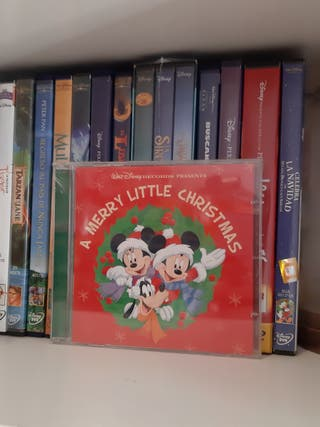 CD Navidad Disney PRECINTADO