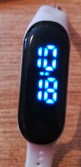 pulsera reloj pantalla táctil digital