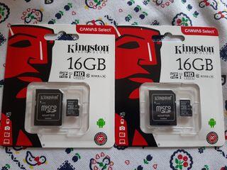 tarjeta micro Sd card 16GB