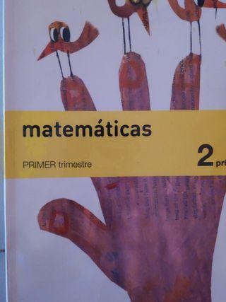 Libro matemáticas 2 Primaria SOLUCIONES. SM.