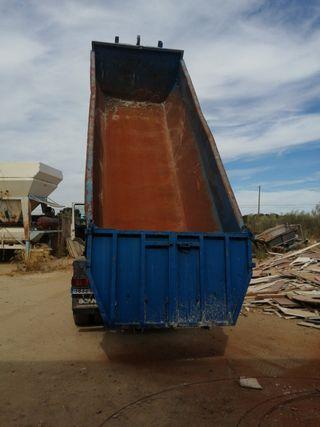 caja Cuba multilift porta contenedor multilift 2006 para camión 3 ejes unos 12 metros cúbicos