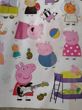 Pegatinas de Peppa pig