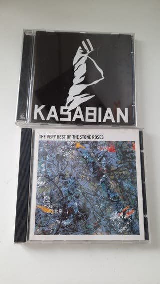 Cd Kasabian y The very best of the stone roses
