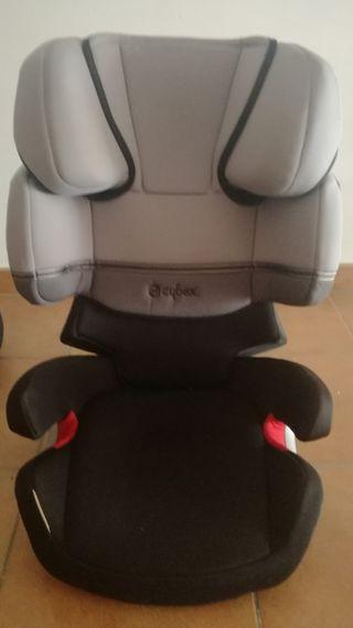 silla coche con isofix cybex
