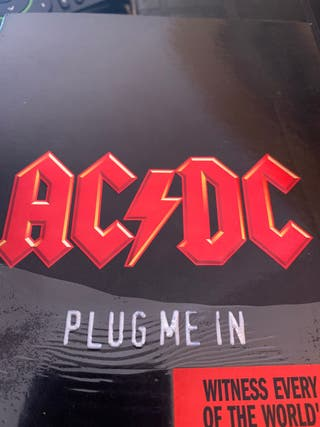 AC/CD Plug me in