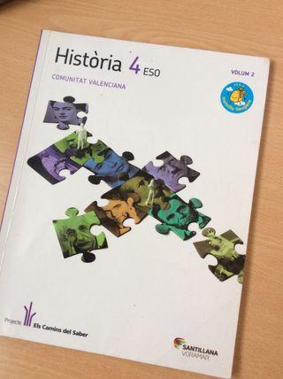 Història Comunitat Valenciana 4 ESO