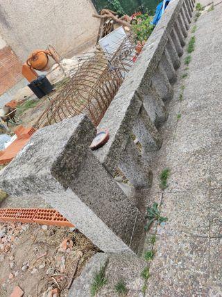 valla de granito para terraza