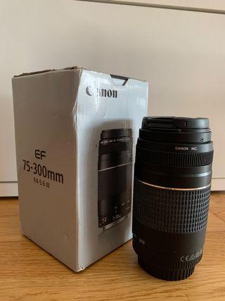 Objetivo Canon EF 75-300