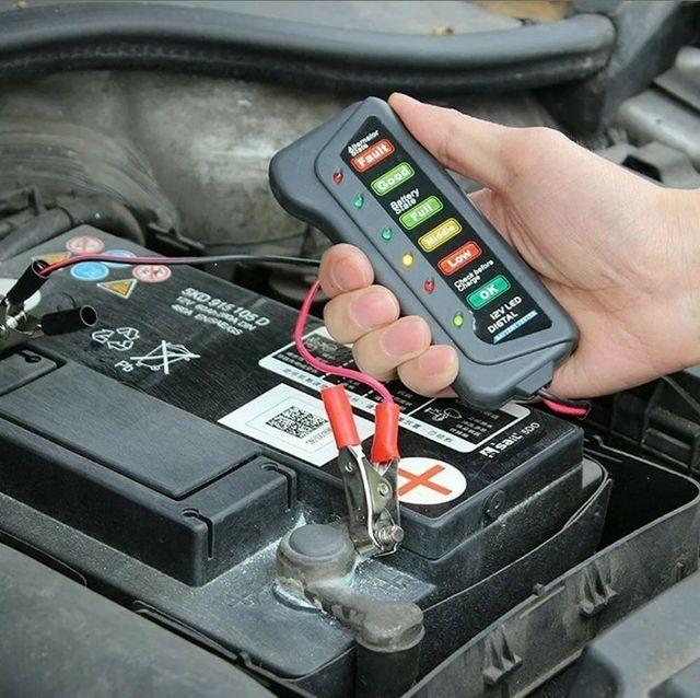 Comprobador tester baterías