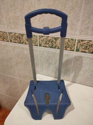 Carro porta mochila