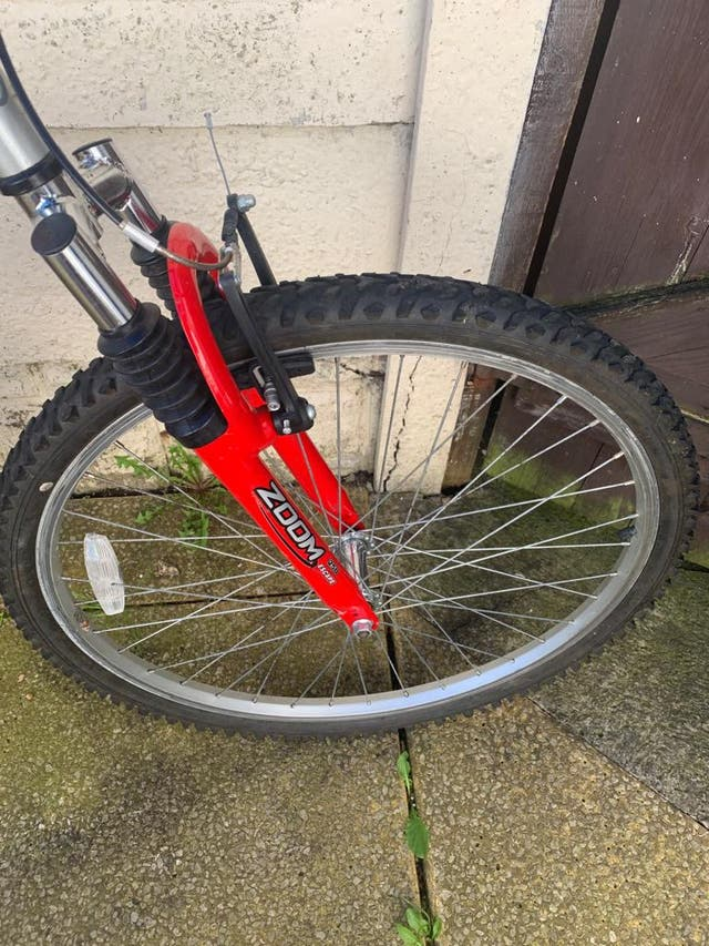 Red Stealth Reactor Mountain Bike