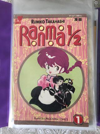 Ranma 1/2 cómics manga partes 1 a 4 completas