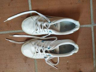 Zapatillas blancas Nike talla 38