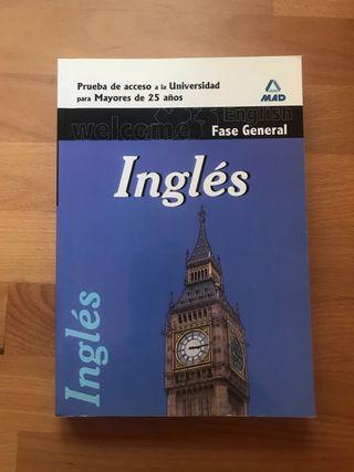 Libro Ingles acceso universidad +25