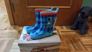 Botas de Agua Talla 24 (marca Tuc Tuc)