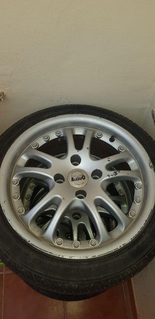 vendo cuatro ruedas completas 205/45/R16