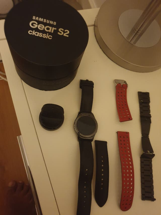 Magnifico Smartwatch Samsung galaxy S2 clasic