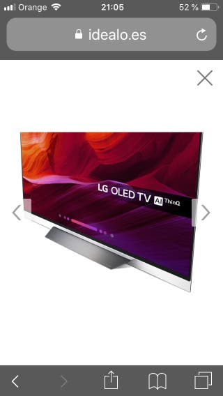 TV LG OLED E8PLA
