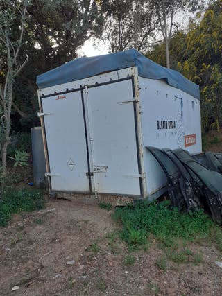 caja cerrada para camión