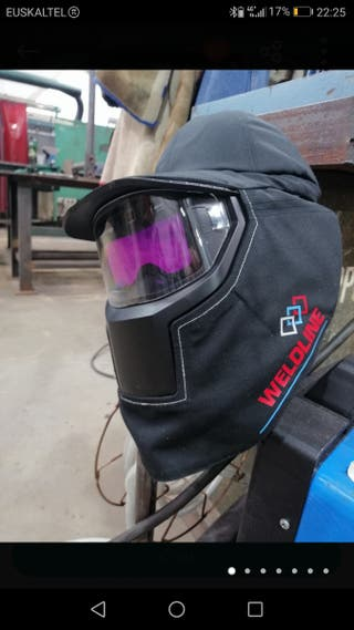 Careta/Pantalla para soldar Optrel