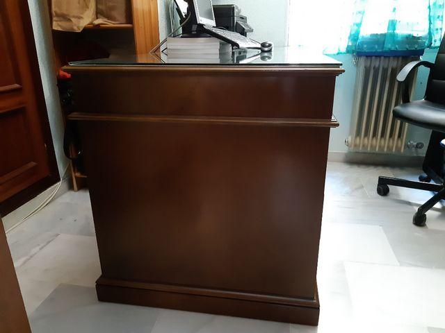 Mesa despacho madera haya