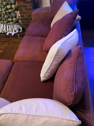 large 8 people living room corner sofa