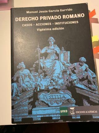 Derecho Romano UNED