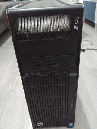 HP Z640 torre workstation 16 gb Ram 1tb HDD 500ssd