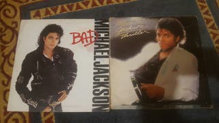 Michael Jackson 2 vinilos Bad + thriller