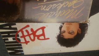 Michael Jackson 2 vinilos Bad + thriller