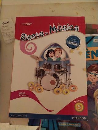 libro musica 5 primaria Pearson