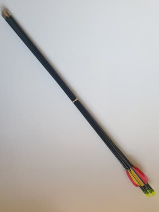 "Archery Fibreglass Arrows Set of 6 (30"" inches)"