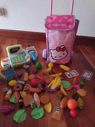 caja registradora y accesorios