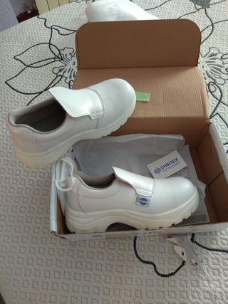 zapatos mujer seguridad