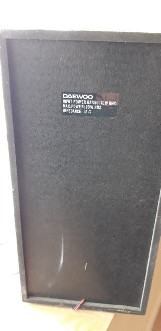 Altavoces DAEWOO