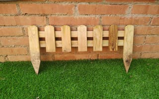 Bordadura/valla madera.