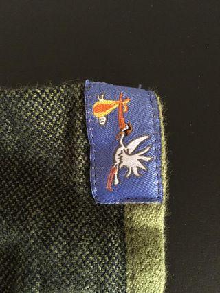 Fular tejido Hoppediz algodón orgánico