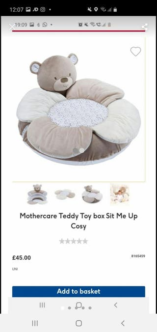 mothercare sit me up