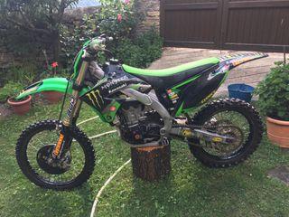 Moto Motocross - Kawasaki KXF 450