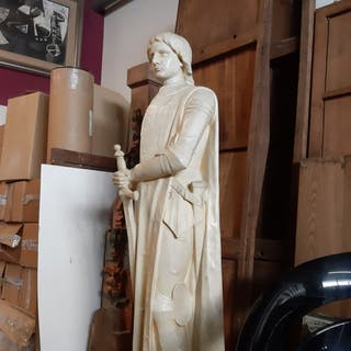 Escultura Juana de Arco
