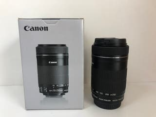 OBJETIVO CANON EFS 55-250MM 1:4-5.6 IS STM