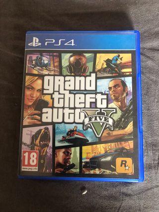 GTA 5 videojuego PS4