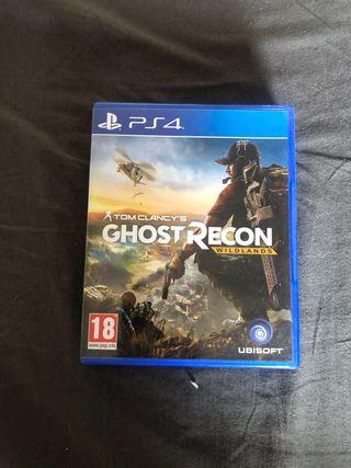 GHIST RECON WILDLANDS PS4