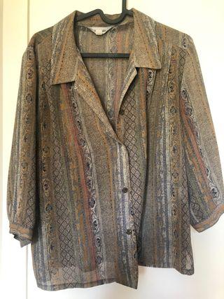 Camisa vintage T.M-L