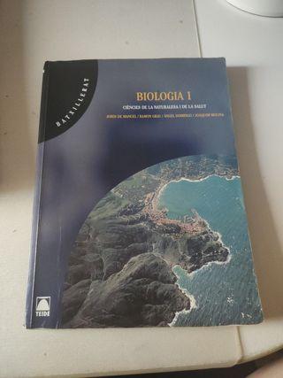 libro Biologia primero de bachillerato