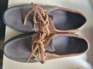 zapato niño moccasin piel. 33. Tizza corte inglés