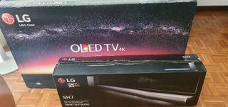 TV LG OLED MAS BARRA SONIDO LG