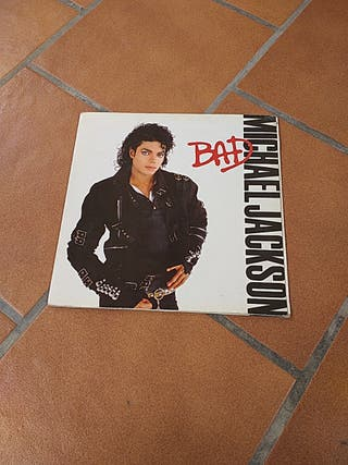 "Disco MICHAEL JACKSON ""BAD"""