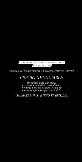 PROFESORA DE REPASO